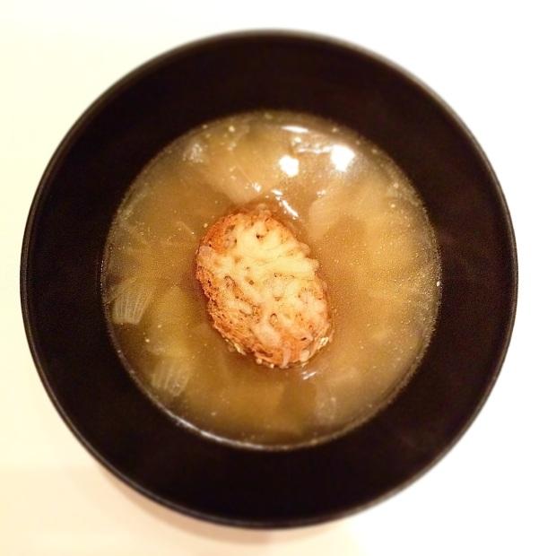 a french onion soup