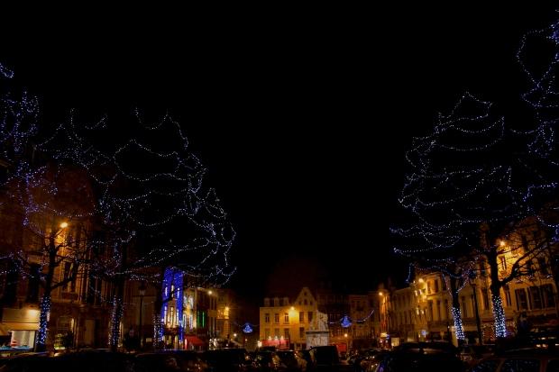 sablon christmas lights