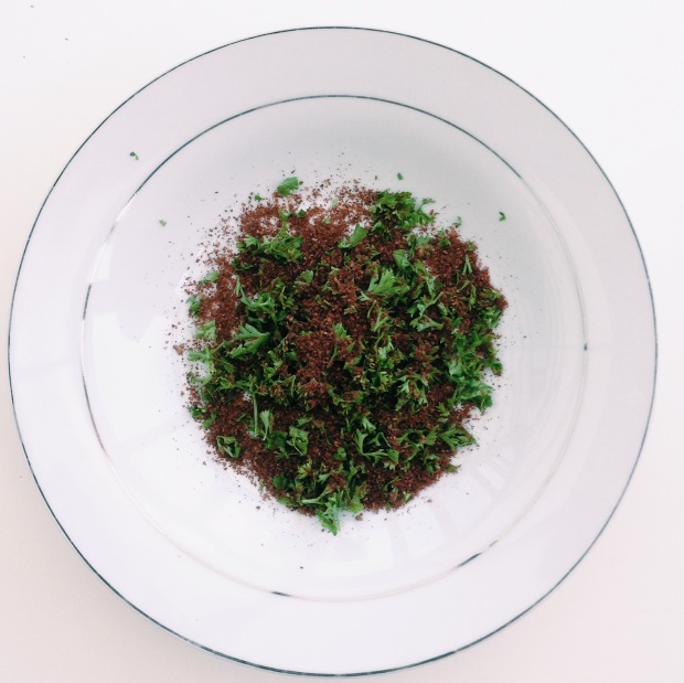 sumac and parsley
